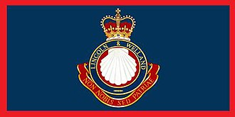 The Lincoln and Welland Regiment - The camp flag of The Lincoln and Welland Regiment