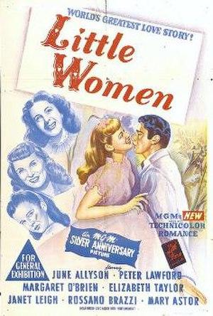 Little Women (1949 film) - Australian Theatrical Poster