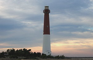 Barnegat Lighthouse on the north tip of Long B...