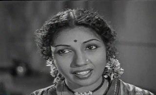 M. Jayashree Indian actress