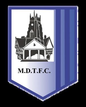 Market Drayton Town F.C. - Market Drayton Town badge