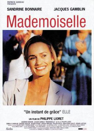 Mademoiselle (2001 film) - Theatrical release poster