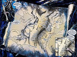 Atlantis (DC Comics) - Image: Mapofatlantisdcu 0