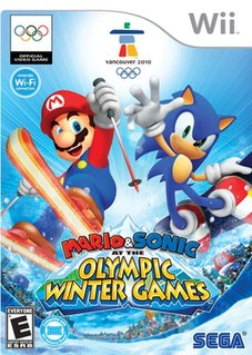 <i>Mario & Sonic at the Olympic Winter Games</i> 2009 sports video game