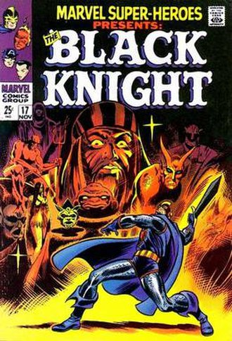 Black Knight (Dane Whitman) - Image: Marvel Super Heroes 17