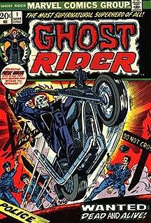 <i>Ghost Rider</i> (comic book)