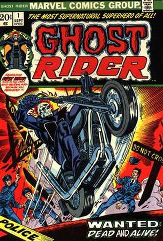Ghost Rider - Image: Marvel Comics Ghost Rider