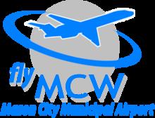 Mason City Municipal Airport logo.png
