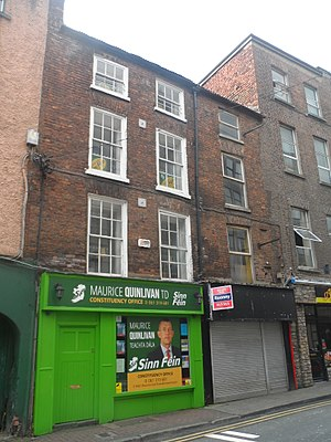 Maurice Quinlivan - Quinlivan's office in Limerick City