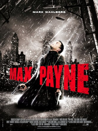 Max Payne (film) - Theatrical release poster