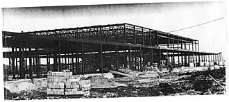 Merivale High School - Under construction in 1963