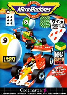 <i>Micro Machines</i> (video game) first game in the Micro Machines series (published 1991)