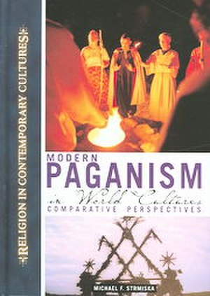 Modern Paganism in World Cultures - The cover of the book.