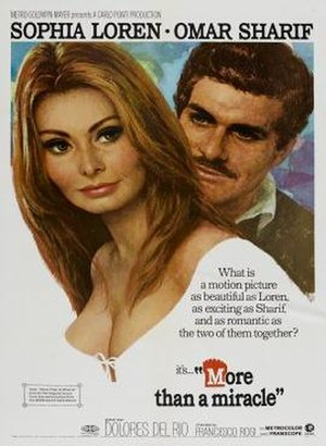 More Than a Miracle - Sophia Loren and Omar Sharif in More Than a Miracle