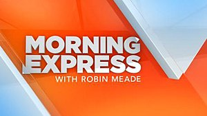 Morning Express with Robin Meade - Image: Morning express logo