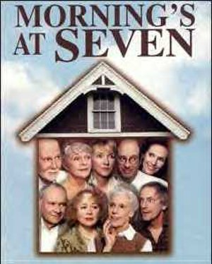 Morning's at Seven - Poster for the 2002 Broadway revival
