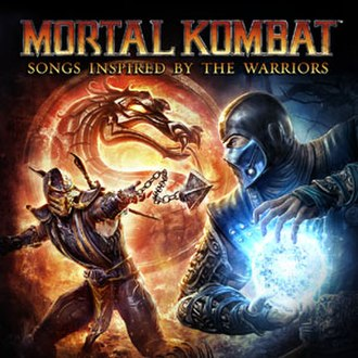 Mortal Kombat: Songs Inspired by the Warriors - Image: Mortal Kombat Songs Inspired by the Warriors