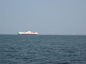 Northumberland Ferries Limited - MV Confederation has been operated by NFL on the Northumberland Strait between Caribou and Wood Islands since 1993.