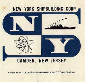 New York Shipbuilding Corporation - Image: NYSB logo Merritt Chapman