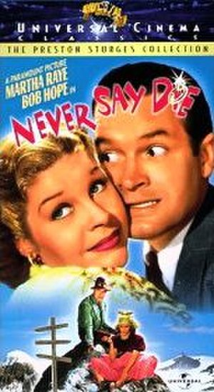 Never Say Die (1939 film) - VHS cover
