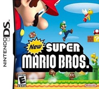New Super Mario Bros. - North American box art
