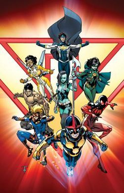 Image result for marvel comics new warriors