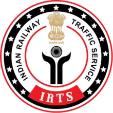 logo for IRTS, Indian Railways