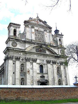 Olyka - Baroque Catholic Collegiate Church of the Holy Trinity in Olyka