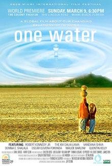 One Water Documentary Film Poster Art
