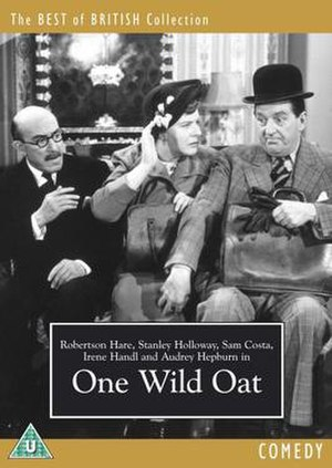 One Wild Oat - DVD cover, featuring (Left to right): Robertson Hare, Irene Handl and Stanley Holloway
