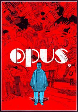 Opus (manga) - The cover of the first volume of Opus