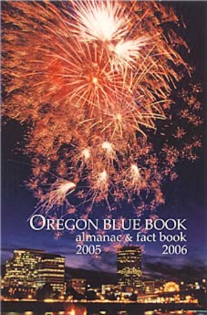 Oregon Blue Book - Cover of the 2005 edition