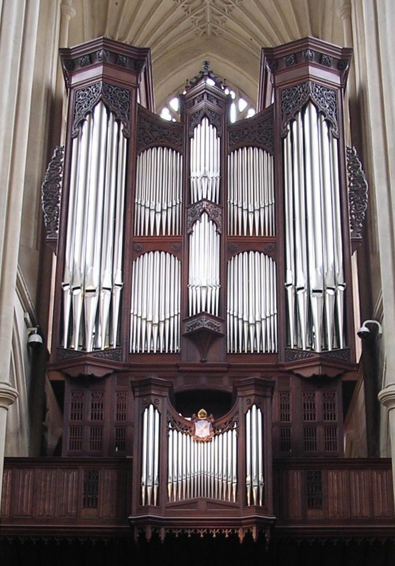 Organ of Bath Abbey