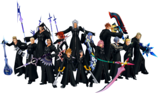 Organization XIII A fictional group of characters