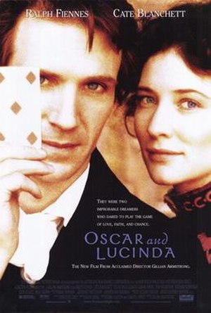 Oscar and Lucinda (film) - Theatrical release poster