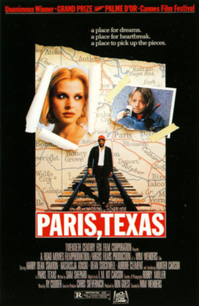Picture of a movie: Paris, Texas