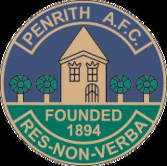 Penrith F.C. - Image: Penrith F.C. logo