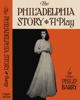 <i>The Philadelphia Story</i> (play) 1939 play by Philip Barry