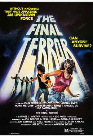 "The Final Terror - Image: Poster of the movie ""The Final Terror"""