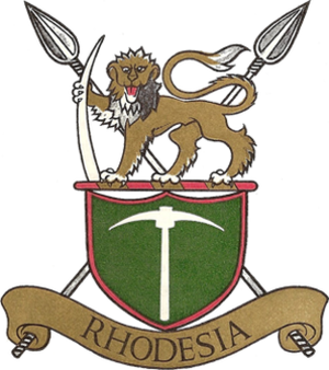 Rhodesian Security Forces - Image: Rhodesian Army emblem (republic)