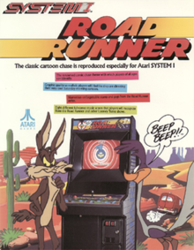 RoadRunner arcadeflyer.png