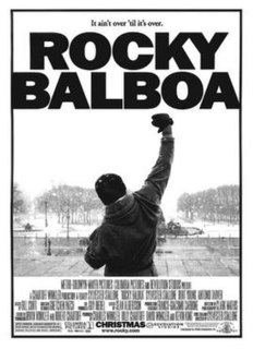 2006 US boxing film directed by Sylvester Stallone