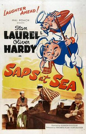Saps at Sea - Theatrical poster