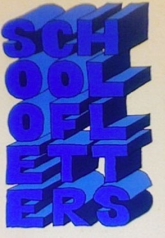 School of Letters - School of Letters logo from the 1972 (final year of the School) brochure.