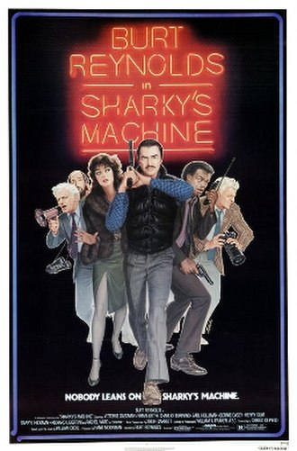 Sharky's Machine - Theatrical release poster