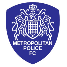 Metropolitan Police FC badge (via Wikipedia)
