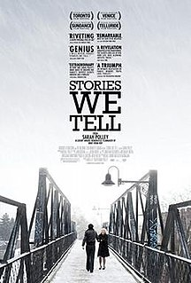 <i>Stories We Tell</i> 2012 film by Sarah Polley