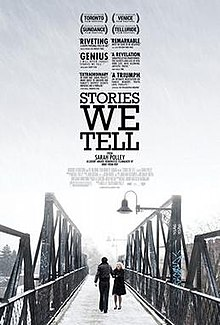 Promo poster for Stories We Tell