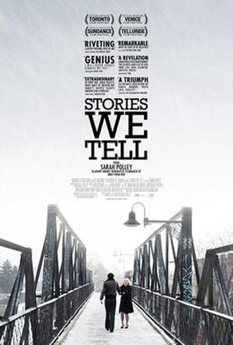 Stories We Tell - Theatrical release poster