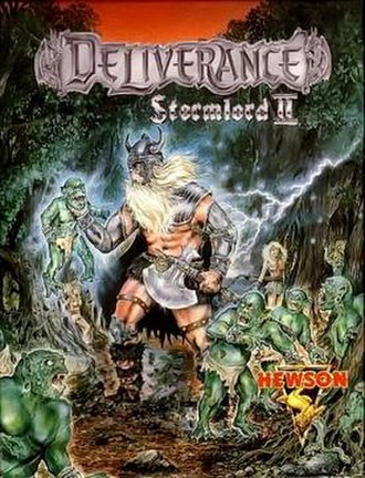 Deliverance: Stormlord II - Cover art
